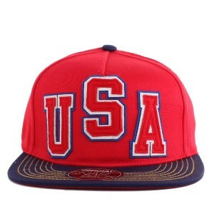 Boné Official Snapback USA Red/Navy