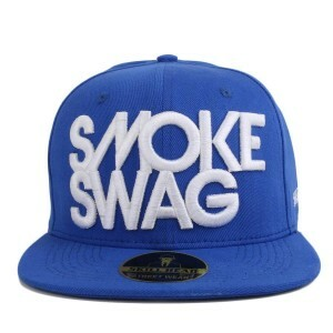 Boné Rege x Mr Thug Snapback Smoke Swag Azul Royal