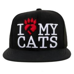 Boné True Heart Snapback I Love My Dogs Preto