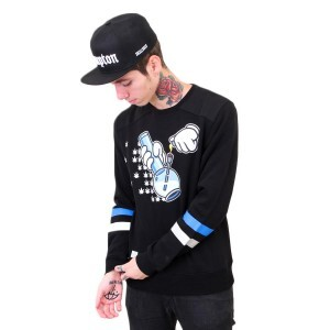 Moletom Cayler And Sons GL Bubbles Crewneck Preto