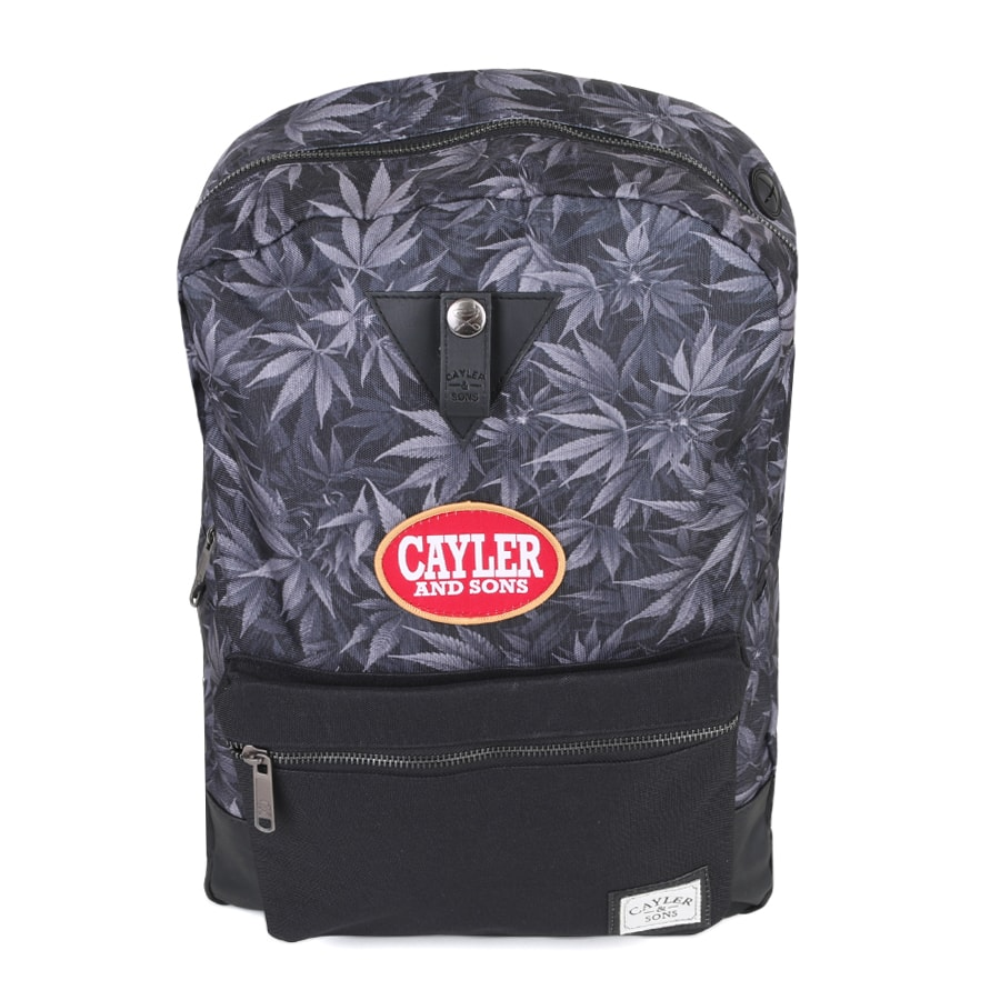 Mochila Cayler and Sons Blunted Uptown Backpack Preto Kush
