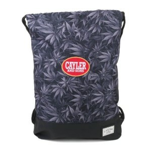 Sacola Cayler and Sons Blunted Gym Preto/Cinza