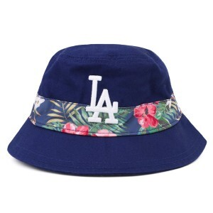 Bucket Hat New Era Los Angeles Dodgers Azul Royal/Floral