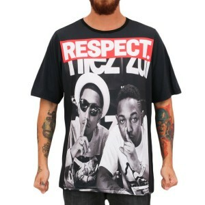 Camiseta Gorille Noire Respect Black