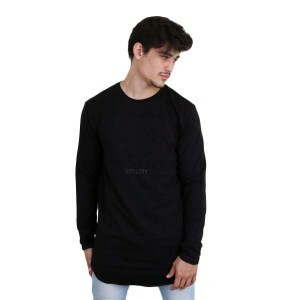 Camiseta Cayler And Sons WL Dynasty Scallop Longsleeve Manga Longa Preto