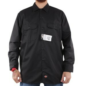 Camisa Dickies Long Sleeve Black