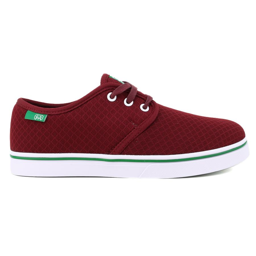 Tênis Hocks Del Mar Lite Mesh Burgundy