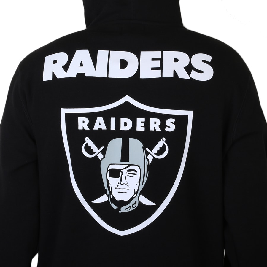 Moletom New Era Oakland Raiders Black