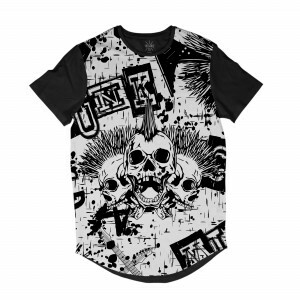 Camiseta Insane 10 Longline Full Print