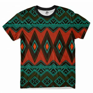 Camiseta BSC Tribal Indiano Full Print Verde