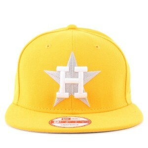Boné New Era 9FIFTY Snapback Houston Astros Tradicional Yellow