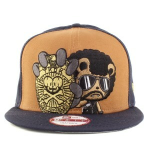 Boné Tokidoki New Era 9Fifty Snapback Navy/Brown