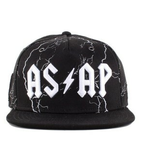 Boné Cayler And Sons Snapback Voltage Cap Black/Printed