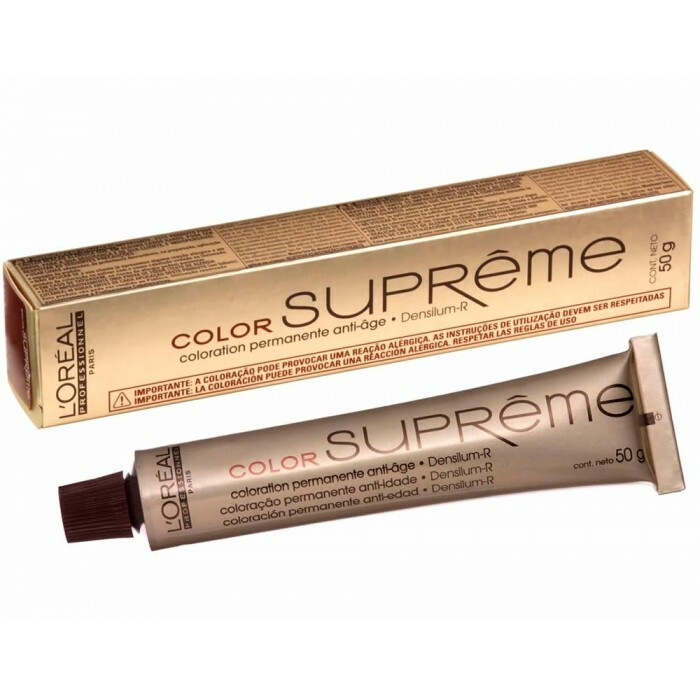 Tintura LOreal Paris Color Supreme 6.31 Amêndoa