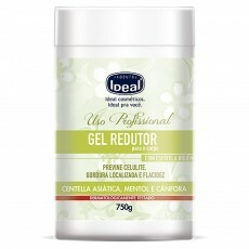 Gel Redutor Ideal Mentol e Cânfora - 750g