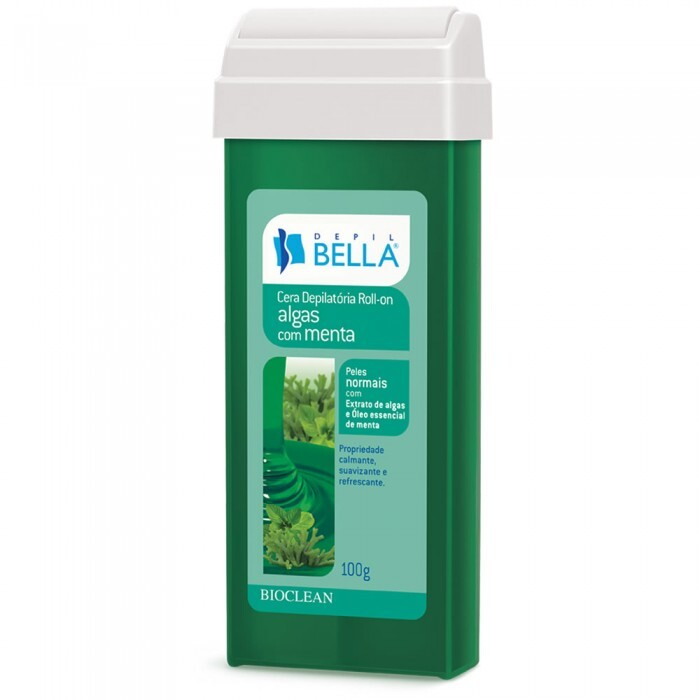Refil Roll-On Depil Bella Algas com Menta - 100g