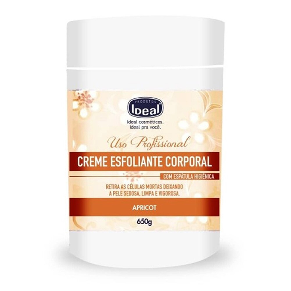 Creme Esfoliante Ideal Apricot - 650g