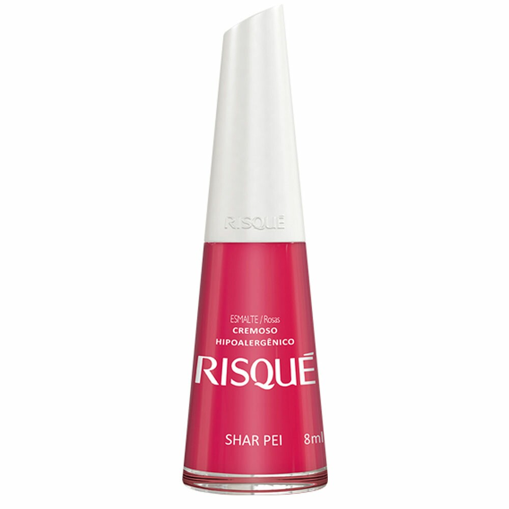 Esmalte Risque Love Dogs Shar Pei - 8ml