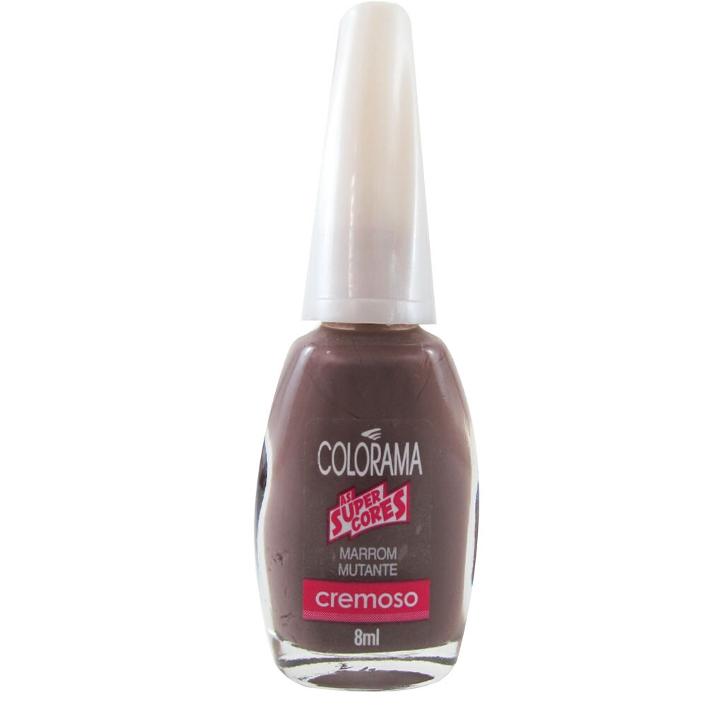 Esmalte Colorama As Super Cores Marrom Mutante - 8ml