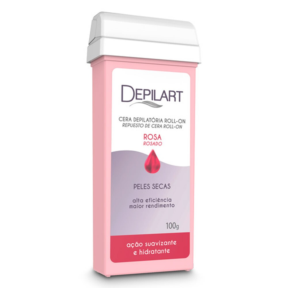 Refil Roll-On Depilart Rosa - 100g