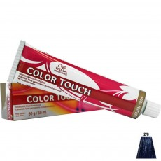 Tonalizante Wella Color Touch 2.8 Preto Azulado - 60ml