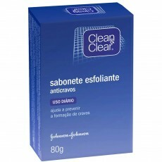 Sabonete Esfoliante Anti-Cravos Clean & Clear - 80g