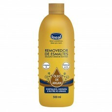 Removedor de Esmaltes Ideal Óleo de Argan - 500ml