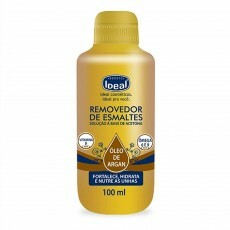 Removedor de Esmaltes Ideal Óleo de Argan - 100ml