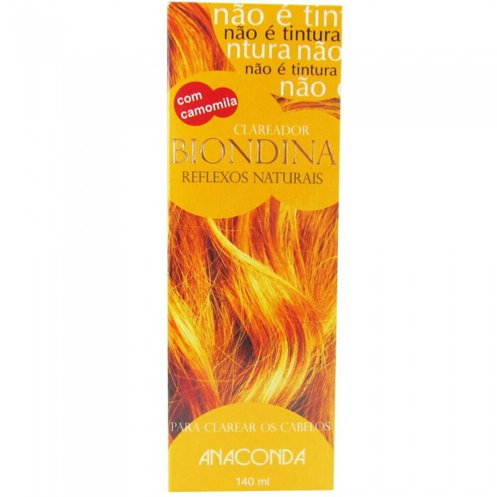 Descolorante Clareador Biondina Anaconda Reflexos Naturais - 140ml