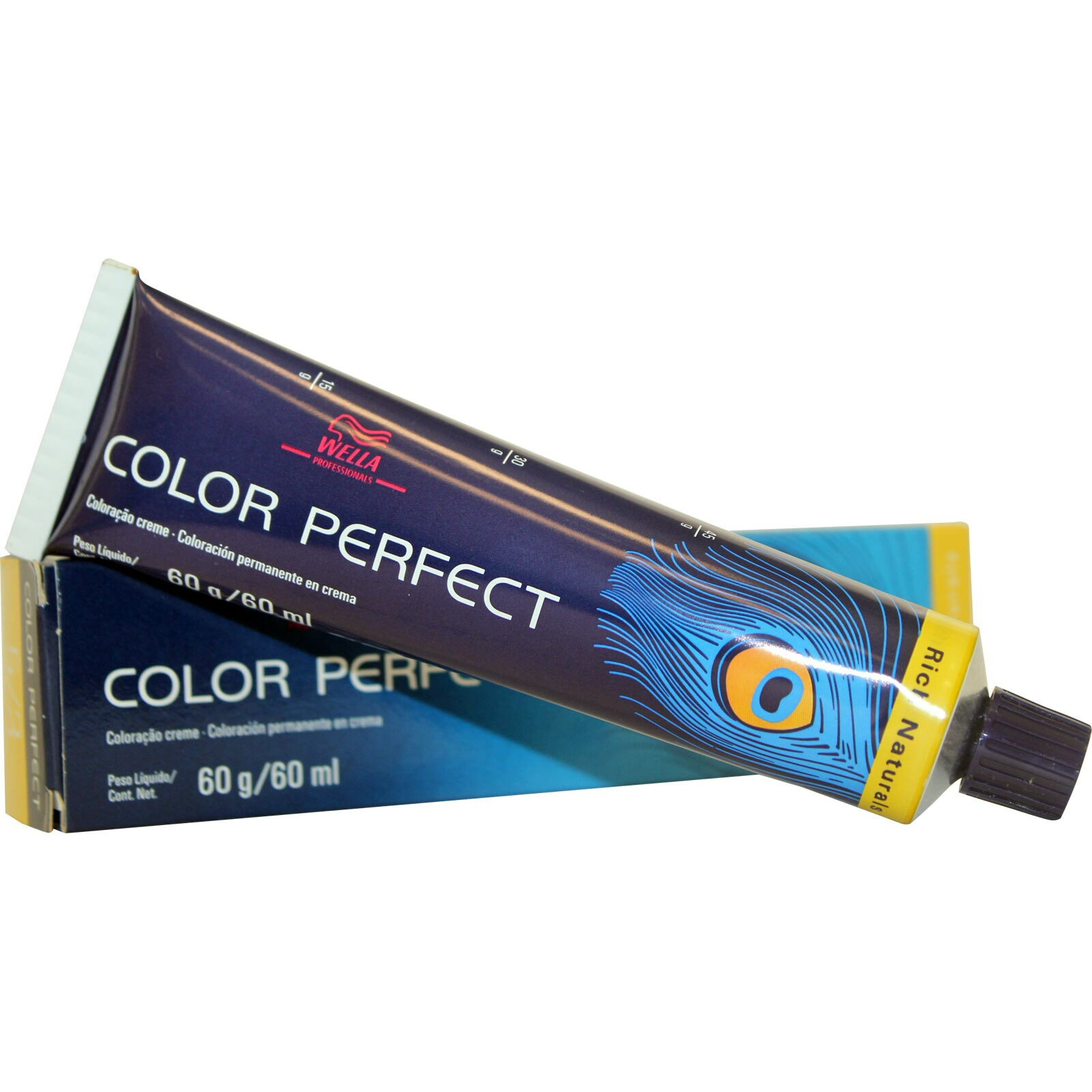 Tintura Wella Color Perfect 7.1 Louro Médio Acinzentado - 60ml