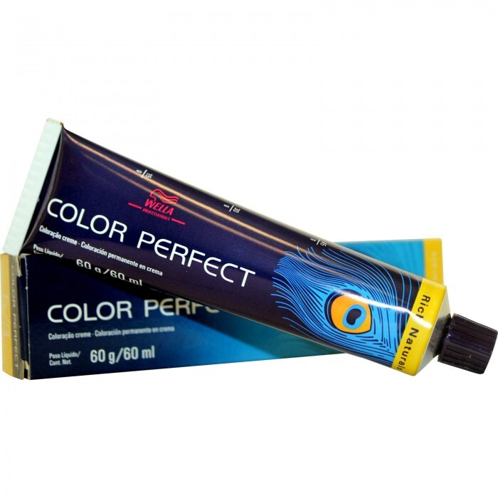 Tintura Wella Color Perfect 9.1 Louro Ultraclaro Acinzentado - 60ml