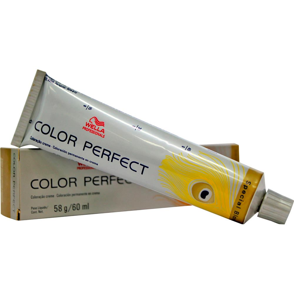 Tintura Wella Color Perfect 12.1 Louro Cinza Especial - 60ml