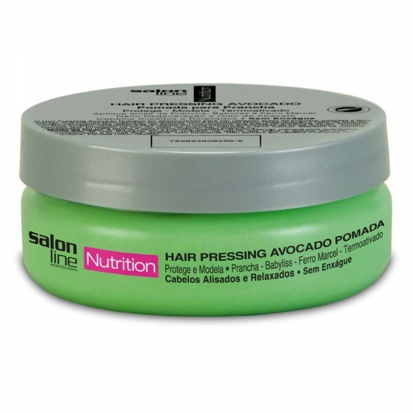 Hair Pressing Avocado Pomada Salon Line Nutrition - 130g