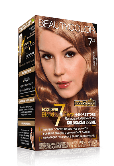 Tintura Beauty Color Kit 7.3 Louro Dourado