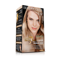 Tintura Beauty Color Kit 9.1 Louro Muito Claro Acinzentado