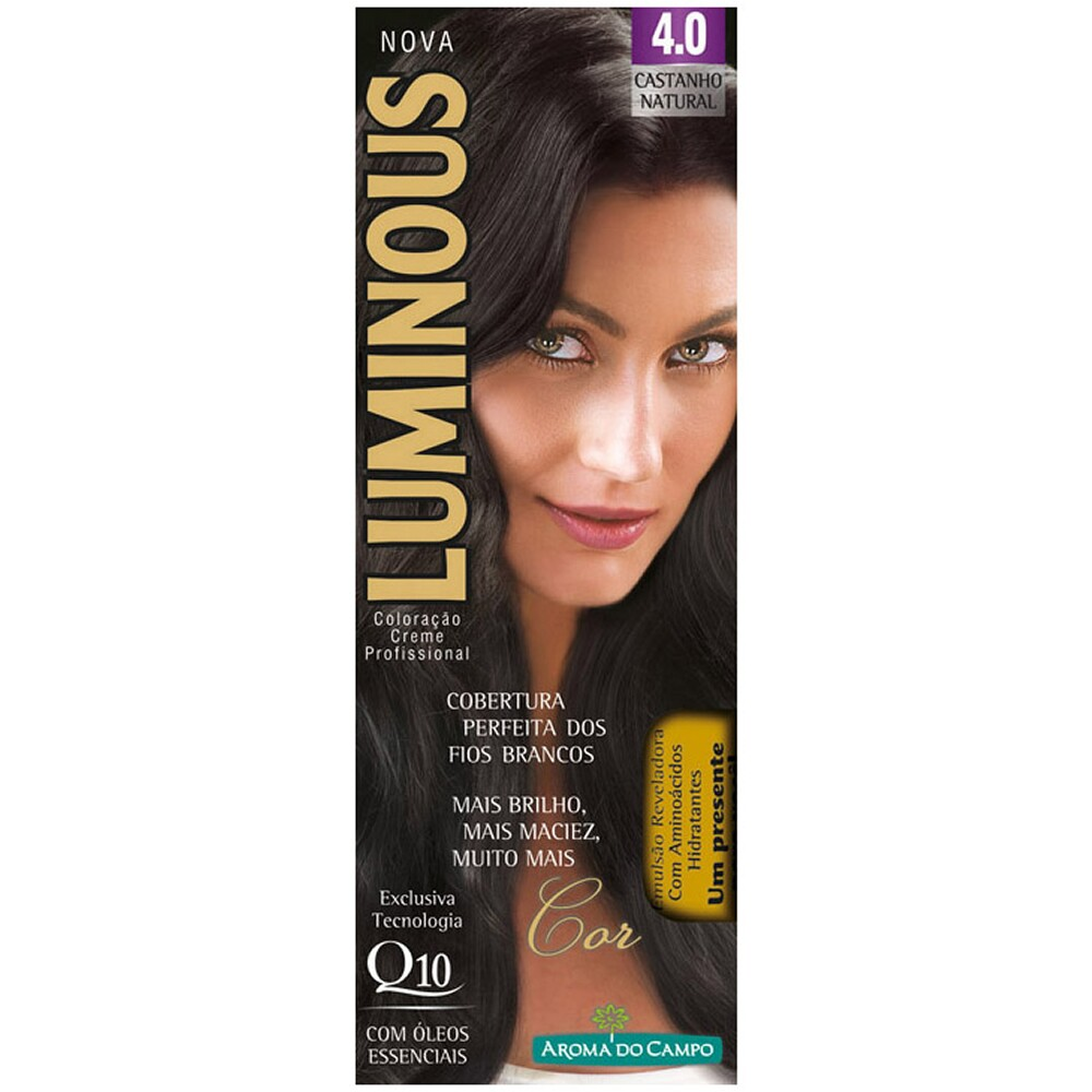 Tintura Luminous 4.0 Castanho Natural