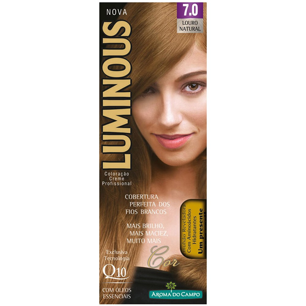 Tintura Luminous 7.0 Louro Natural