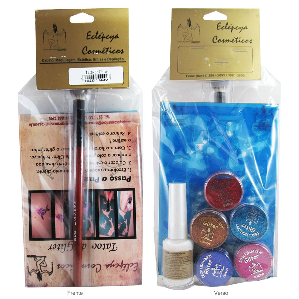 Kit de Tatoo de Glitter Eclépcya