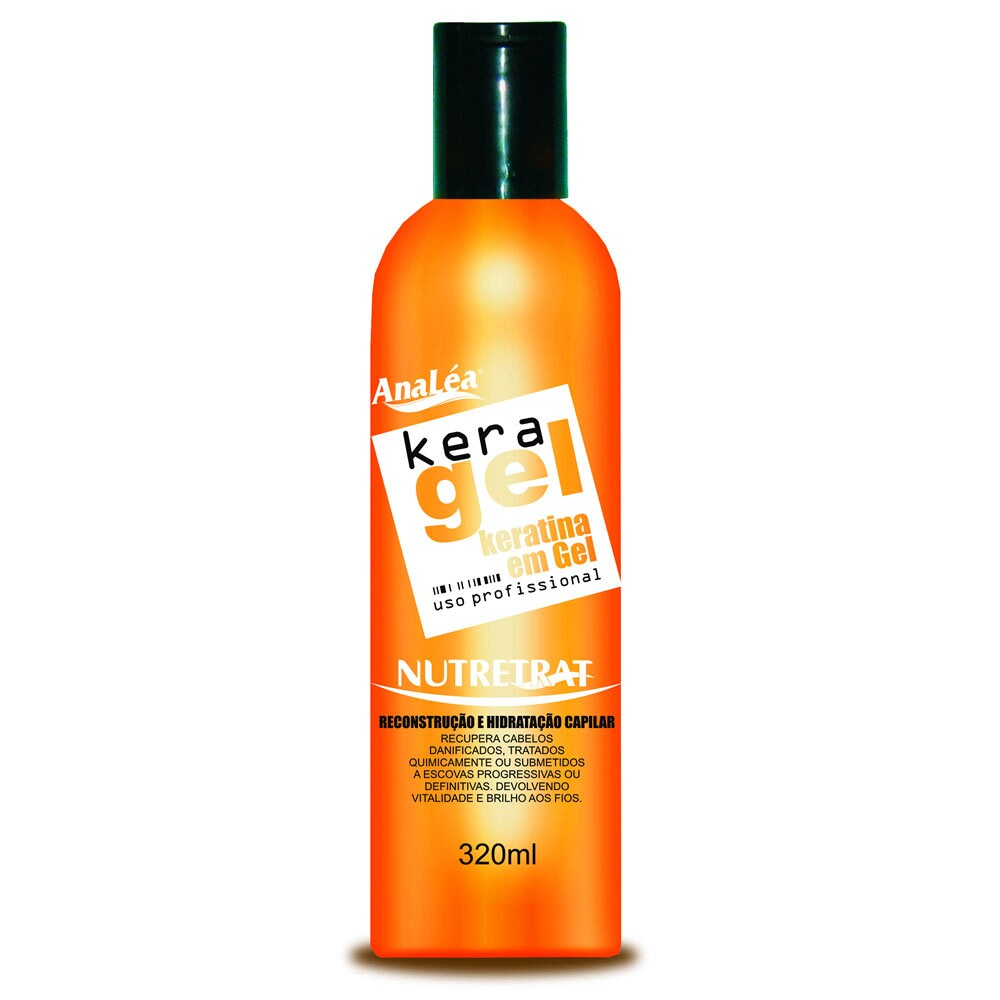 Keratina em Gel AnaLéa KeraGel Nutretrat - 320ml