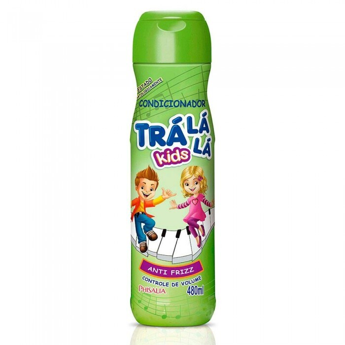 Condicionador Trá Lá Lá Kids Musical Anti Frizz - 480ml