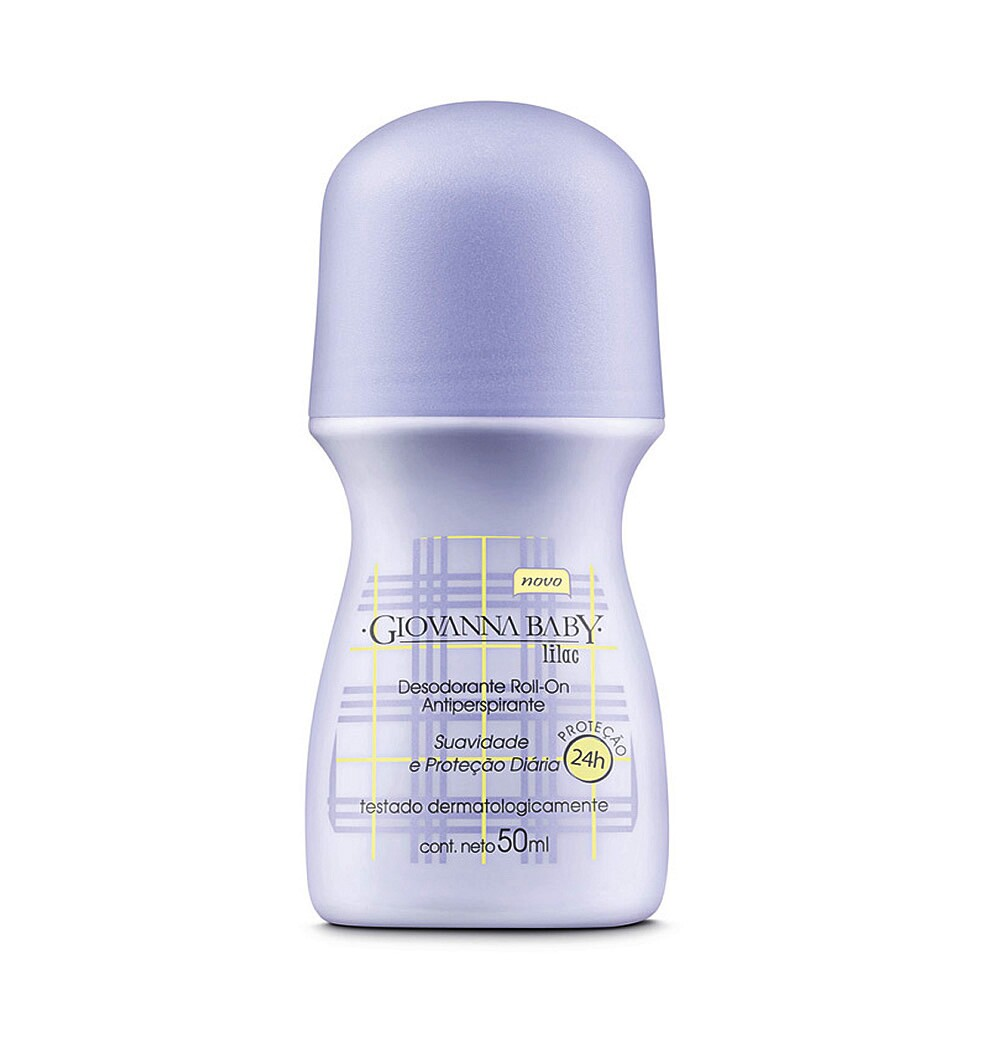 Desodorante Giovanna Baby Roll-On Lilac - 50ml