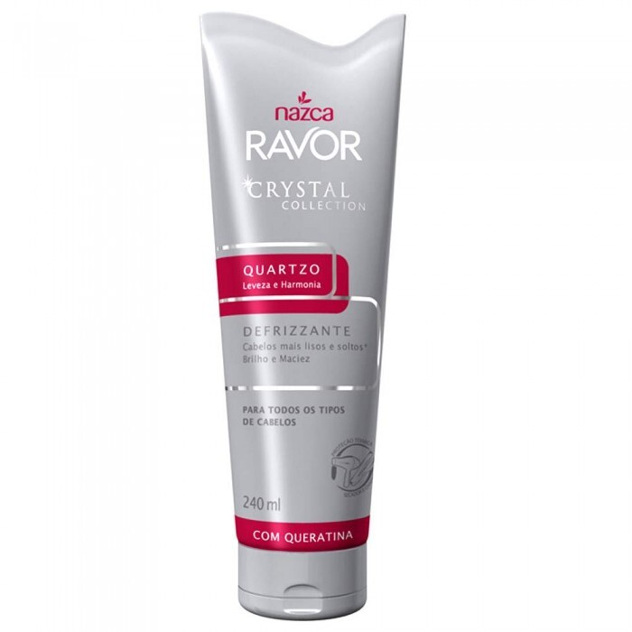 Defrizzante Ravor Nazca Crystal Collection Quatzo - 240ml