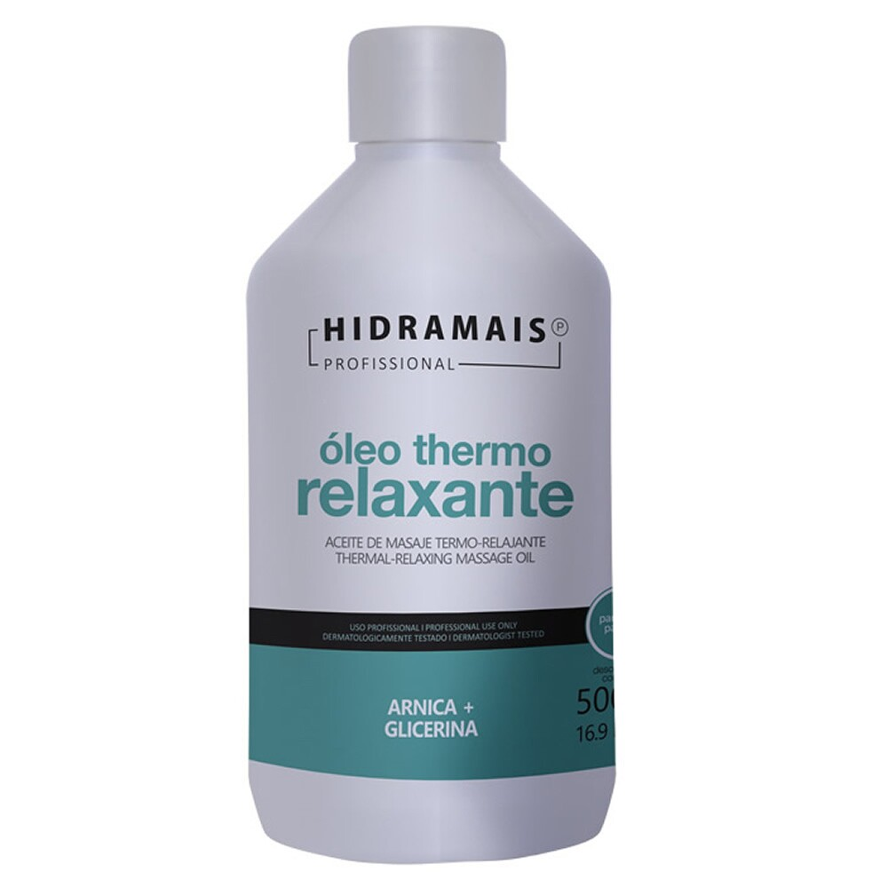 Óleo Thermo-Relaxante Hidramais Clinical Para Massagem - 500ml