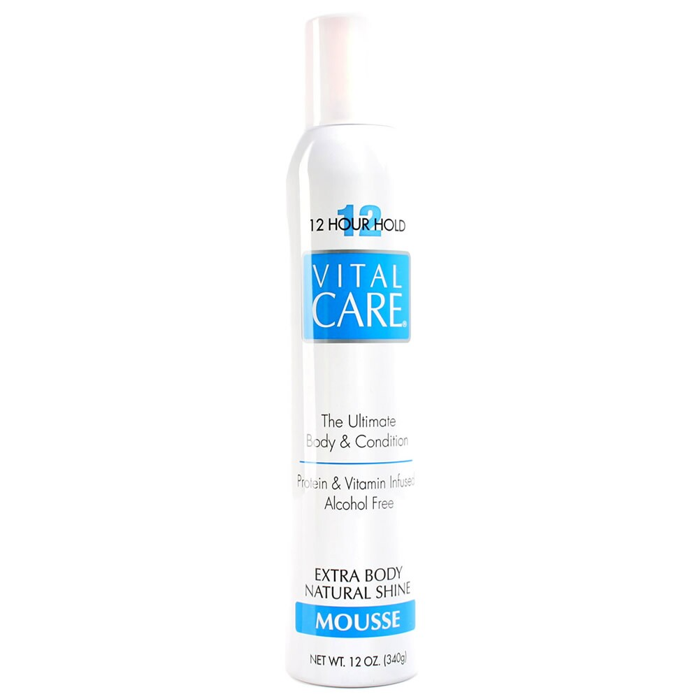 Mousse Vital Care Extra Body Natural Shine - 340g