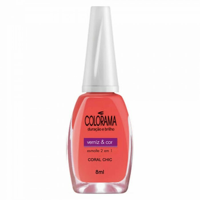 Esmalte Colorama Coral Chic - 8ml