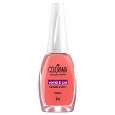 Esmalte Colorama Coral - 8ml