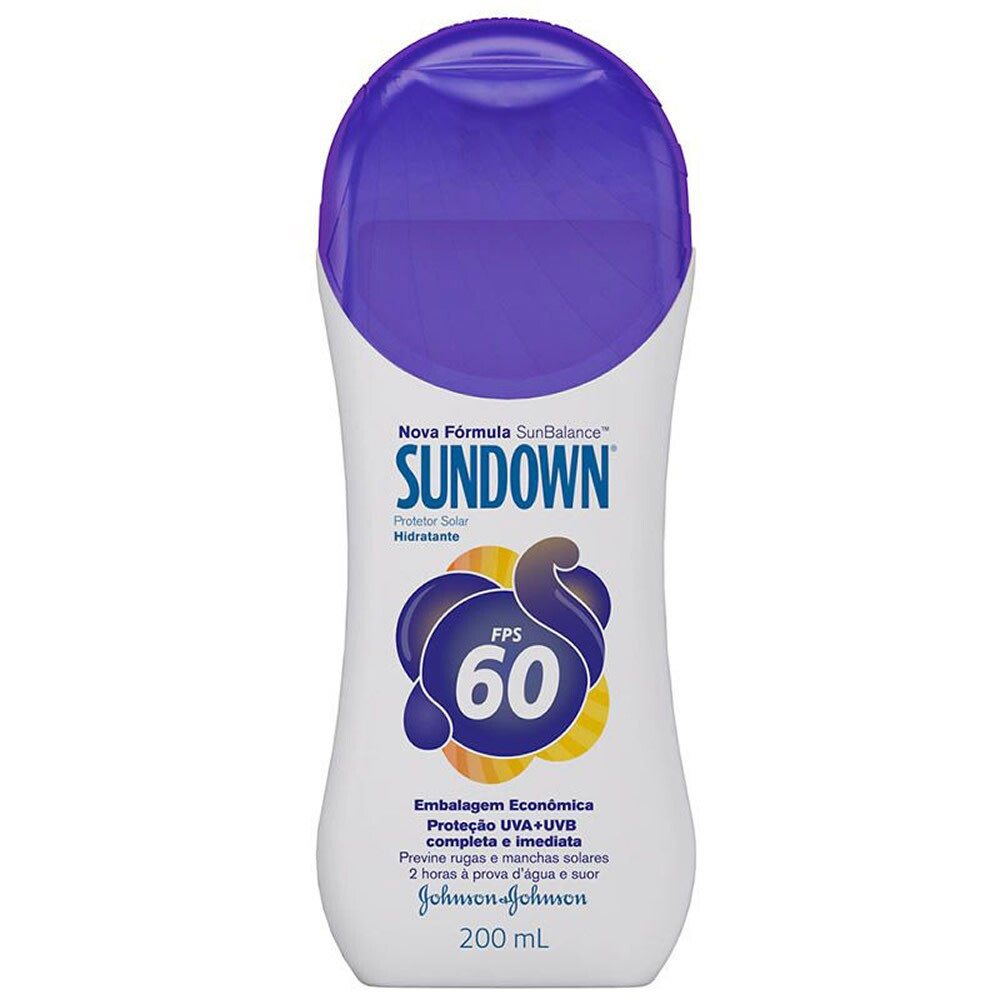 Protetor Solar Sundown FPS 60 - 120ml