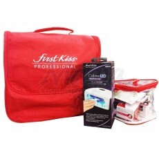 Kit de Alongamento de Unha First Kiss Gel e Acrygel Profissional