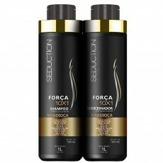 Kit Seduction Força 10x1 Mandioca Shampoo + Condicionador - 1L