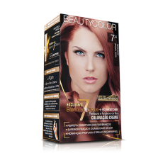 Tintura Beauty Color Kit 7.4 Louro Natural Acobreado